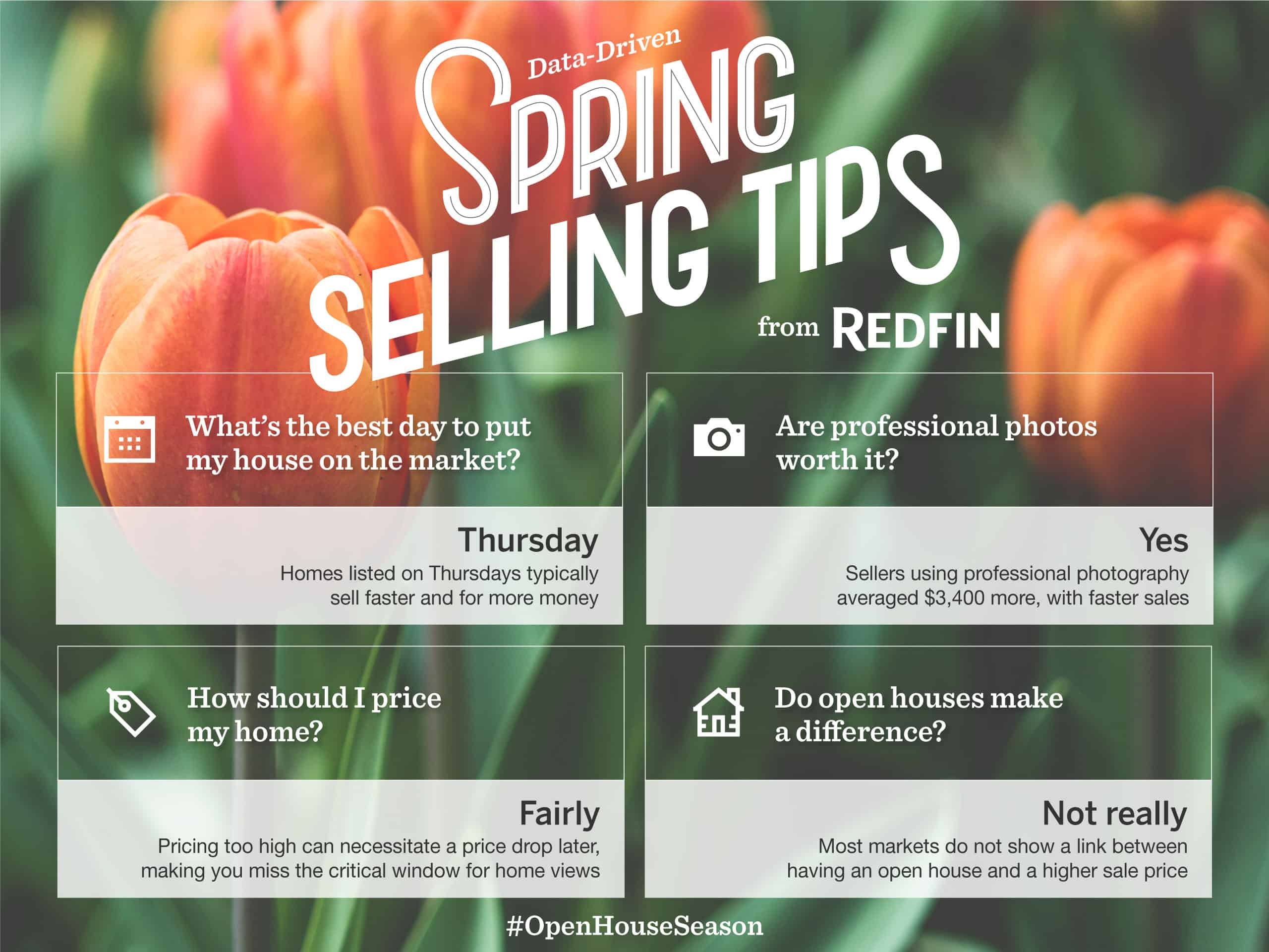 spring selling tips